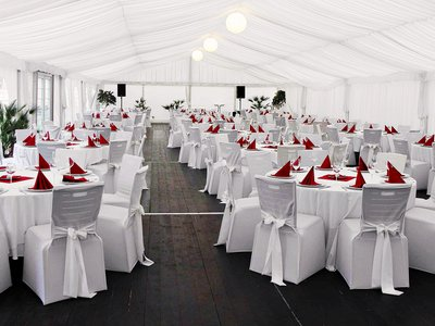 EA Hotel Tereziansky dvur**** - party tent - festive decoration of tables